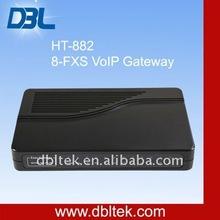 VoIP Provider:8 Port VoIP FXS Gateway/Asterisk VoIP Gateway(HT-882)