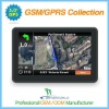 5.0 inch car gps navigation with GSM/GPRS