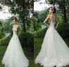SL-x0293 Applique Strapless Elegant Open Back Wedding Dress 2012