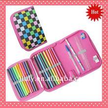 2012 Pretty Student Zipper Pencil Case
