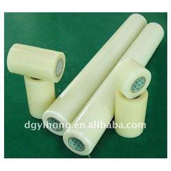Non-glue antistatic protective plastic film