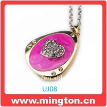 Beatiful necklace jewelry pendrive