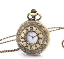Promotional antique pocket watch for collecting, quartz pocket watch