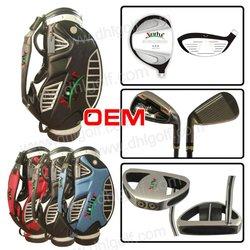 2011 hot sale full golf club set with golf bag super light shaft
