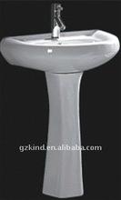 Model durable ceramic pede closet basin JD-111