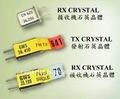 Fm tx/ rx cristais de rádio frequência