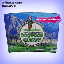 Dye Sublimation Neoprene Coffee Cup Sleeve