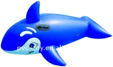 inflatable dolphin slide for kid for summer relaxiation