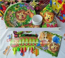 Wholesale Safari Animal Theme Party Decorations
