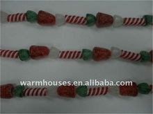 acrylic beaded garland decoration