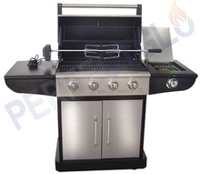 4B+SB Partial stainless steel gas grill