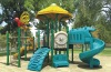 outside playground Made of LLDPE,Galvanized steel pipe
