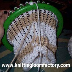 Ravelry: Loom Knit Steelers Blanket pattern by Dayna Scoles