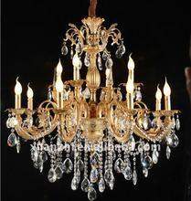 gold crystal chandelier 83018-8+4