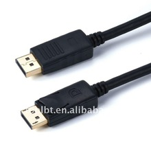 Practical High quality DP Displayport cable male to male 10ft/3meters