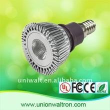 promotion+high power, E14 1w LED ceiling spotlight