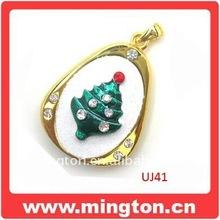 4G christmas jewelry usb flash drive