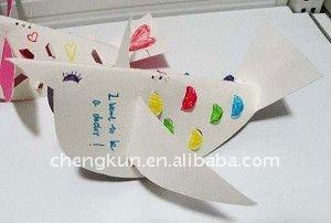 creativo de papel plegable de la artesanía