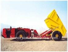 Mine transporter Articulated dump trucks