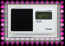 Retail-Wholesale Tecsun CR-100 radio windows mobile fm