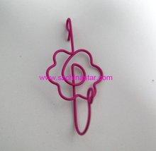 Flower shape christmas hooks
