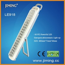 Handy or Wall-Mount 60 PCS Powerful LEDs with Test Function Button Rechargeable Emergency Light---LE918