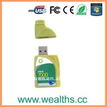promotional gift oil can usb flash drive
