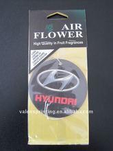 Custom Paper Car Air Freshener for promotion