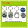Customized Personality Keyring with Coin Holder