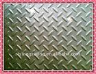 anti slip and anti corrosion galvanized metal chequer plate