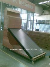 flat plate solar water heater sun panel split vacuum collector (solar keymark, EN12975, sabs, ce, ccc, ISO passed) 2011