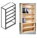 bookshelf modern DIY RTA furniture, flat packed