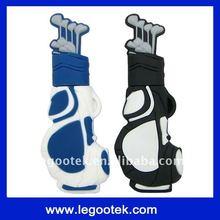 promotion gift/PVC usb flash drive/golf usb flash drive/1GB/2GB/CE,ROHS,FCC