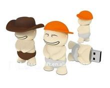 briefs wear Tough Break Kid PVC USB gifts,promotional USB memory sticks