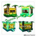 Hot ! ! ! Tropical casa do salto , jungle bounce , jumpers
