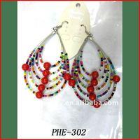 Chandelier earring fashion DIY product,cheap earring