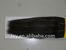 Human hair Yaki Stragiht
