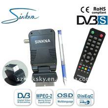 mini scart satellite receiver dvb s
