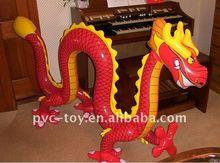 2011 promotionable pvc inflatable dragon cartoon