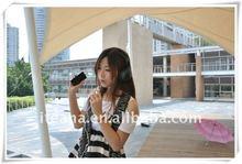 2012 new Moving portable karaoke speaker I9