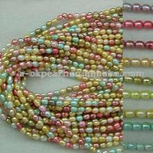 Colored Pearl Strands