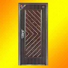 Heat Transfer Security Door