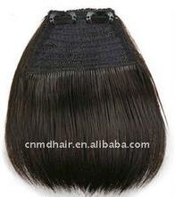 Human Hair Clip-on Front Bangs