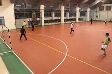 China pvc flooring futsal court surface
