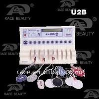 HOT U2B - electronic muscle stimulation for body toning (CE, ISO13485)