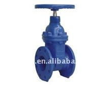 DIN F4 Resilient seat non-rising stem gate valve