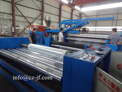 Multifunctional extrusion laminating machinery for nonwoven/woven/paper/plastic film/metalic foil