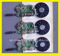 Motion Sensor Voice Chip