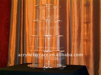 5 tier Round Cupcake Stands/bakery display ,pastry display