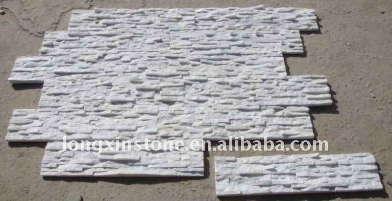 Steinwand Quarzit Weiß : weiße quarzite  *24  Kultur-Stei...
